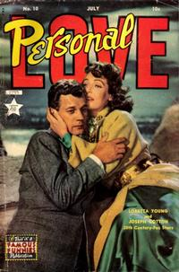 Cover Thumbnail for Personal Love (Eastern Color, 1950 series) #10
