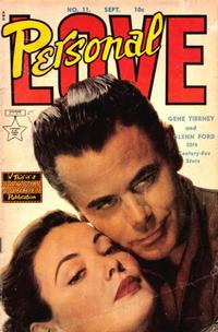 Cover Thumbnail for Personal Love (Eastern Color, 1950 series) #11