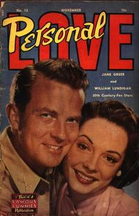 Cover Thumbnail for Personal Love (Eastern Color, 1950 series) #12