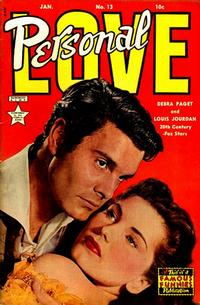 Cover Thumbnail for Personal Love (Eastern Color, 1950 series) #13