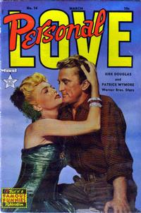 Cover Thumbnail for Personal Love (Eastern Color, 1950 series) #14
