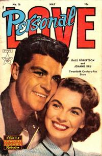 Cover Thumbnail for Personal Love (Eastern Color, 1950 series) #15