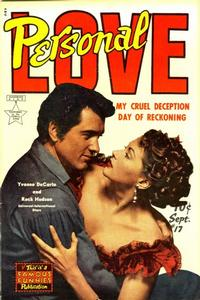 Cover Thumbnail for Personal Love (Eastern Color, 1950 series) #17