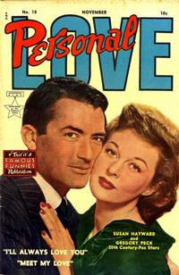 Cover Thumbnail for Personal Love (Eastern Color, 1950 series) #18