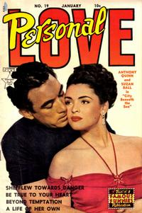 Cover Thumbnail for Personal Love (Eastern Color, 1950 series) #19