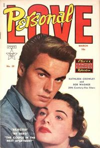 Cover Thumbnail for Personal Love (Eastern Color, 1950 series) #20