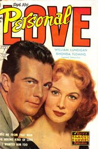 Cover Thumbnail for Personal Love (Eastern Color, 1950 series) #23