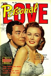 Cover Thumbnail for Personal Love (Eastern Color, 1950 series) #24
