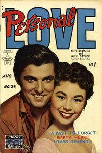 Cover Thumbnail for Personal Love (Eastern Color, 1950 series) #28
