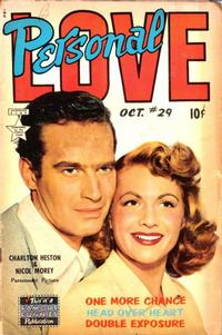 Cover Thumbnail for Personal Love (Eastern Color, 1950 series) #29