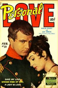 Cover Thumbnail for Personal Love (Eastern Color, 1950 series) #31