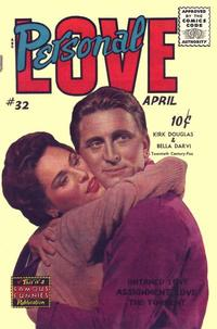 Cover Thumbnail for Personal Love (Eastern Color, 1950 series) #32