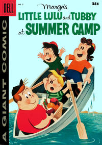 Cover Thumbnail for Marge's Little Lulu and Tubby at Summer Camp (Dell, 1957 series) #2