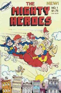 Cover Thumbnail for Mighty Heroes (Spotlight Comics [1980s], 1987 series) #1