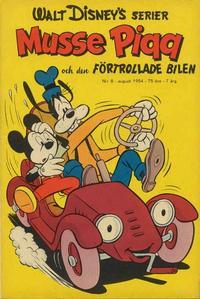 Cover Thumbnail for Walt Disney's serier (Richters Förlag AB, 1950 series) #8/1954