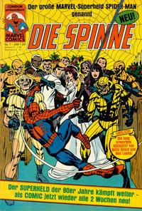 Cover Thumbnail for Die Spinne (Condor, 1980 series) #7