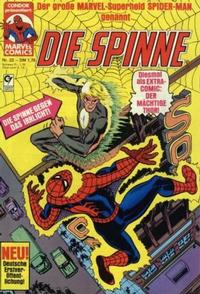 Cover Thumbnail for Die Spinne (Condor, 1980 series) #22