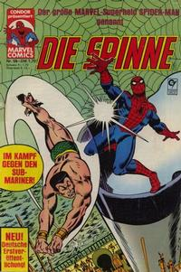 Cover Thumbnail for Die Spinne (Condor, 1980 series) #55