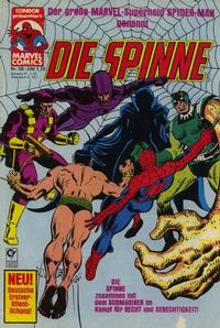 Cover Thumbnail for Die Spinne (Condor, 1980 series) #58