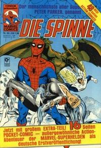 Cover Thumbnail for Die Spinne (Condor, 1980 series) #92