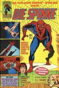 Cover Thumbnail for Die Spinne (Condor, 1980 series) #118