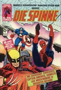 Cover Thumbnail for Die Spinne (Condor, 1980 series) #151