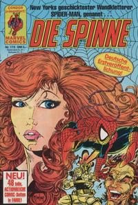 Cover Thumbnail for Die Spinne (Condor, 1980 series) #172