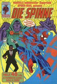 Cover Thumbnail for Die Spinne (Condor, 1980 series) #179