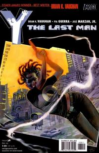Cover Thumbnail for Y: The Last Man (DC, 2002 series) #38