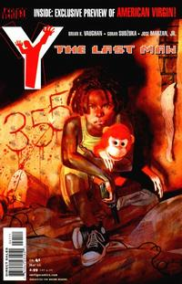Cover Thumbnail for Y: The Last Man (DC, 2002 series) #41