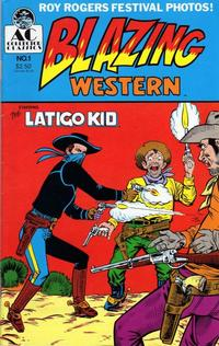 Cover Thumbnail for Blazing Western (AC, 1989 series) #1