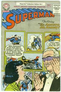 Cover Thumbnail for Superman #97 [Pizza Hut Collectors' Edition Vol. 1] (DC, 1977 series) #[nn]