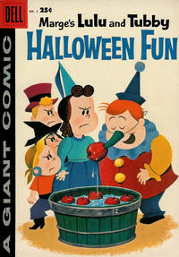 Cover Thumbnail for Marge's Lulu and Tubby Halloween Fun (Dell, 1957 series) #2
