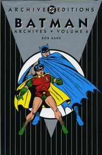 Cover Thumbnail for Batman Archives (DC, 1990 series) #6