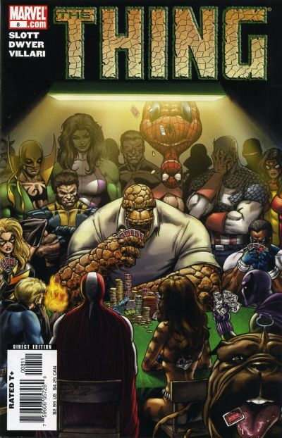 Cover for The Thing (Marvel, 2006 series) #8