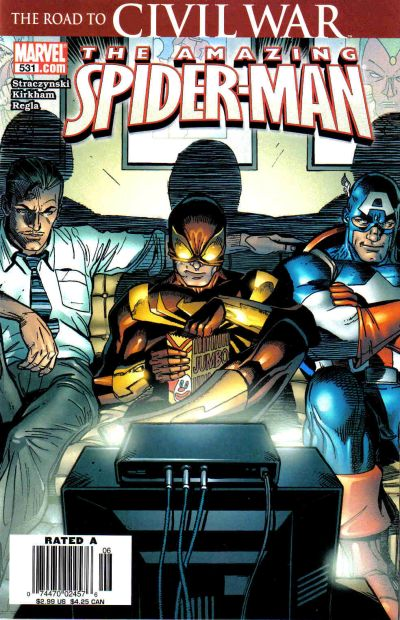 Cover for The Amazing Spider-Man (Marvel, 1999 series) #531 [Direct Edition]