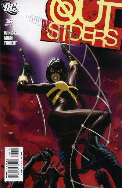 Cover for Outsiders (DC, 2003 series) #38