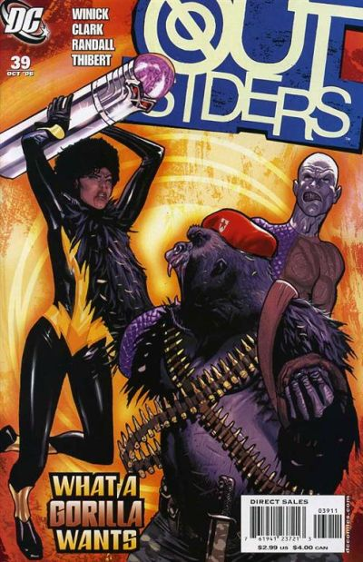 Cover for Outsiders (DC, 2003 series) #39