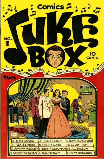 Cover for Juke Box Comics (Eastern Color, 1948 series) #1