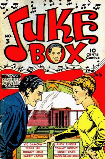 Cover for Juke Box Comics (Eastern Color, 1948 series) #3