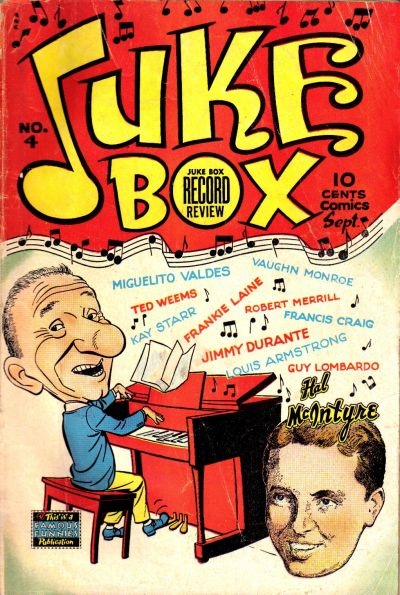 Cover for Juke Box Comics (Eastern Color, 1948 series) #4