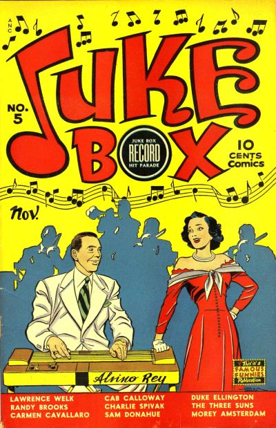 Cover for Juke Box Comics (Eastern Color, 1948 series) #5
