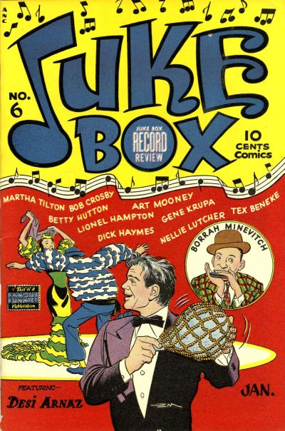 Cover for Juke Box Comics (Eastern Color, 1948 series) #6