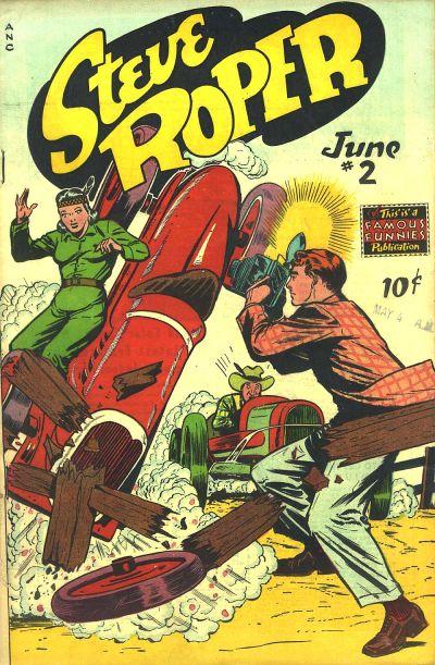 Cover for Steve Roper (Eastern Color, 1948 series) #2