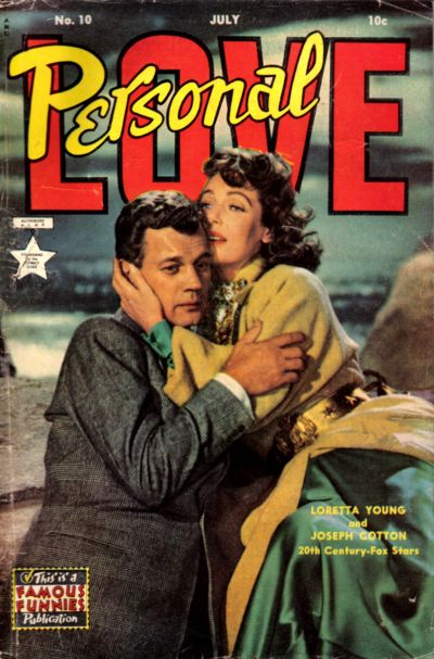 Cover for Personal Love (Eastern Color, 1950 series) #10