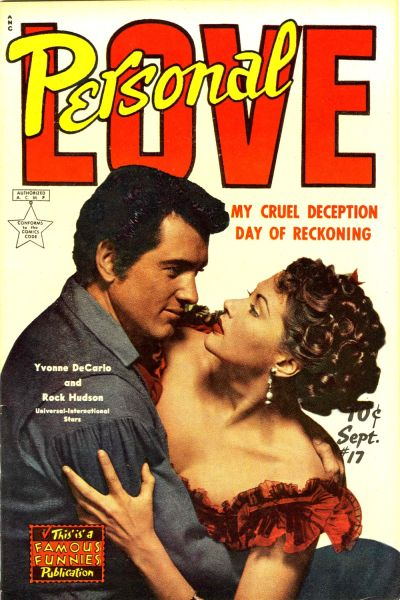 Cover for Personal Love (Eastern Color, 1950 series) #17