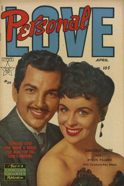 Cover for Personal Love (Eastern Color, 1950 series) #26