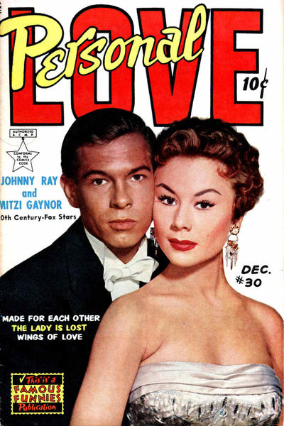 Cover for Personal Love (Eastern Color, 1950 series) #30