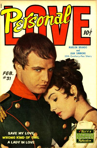 Cover for Personal Love (Eastern Color, 1950 series) #31
