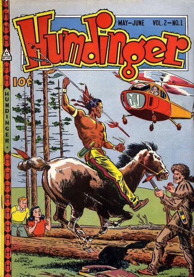 Cover for Humdinger (Novelty / Premium / Curtis, 1946 series) #v2#1 [7]
